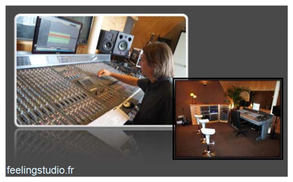 Studio d'enregistrement Feeling Studio Lille EVJF