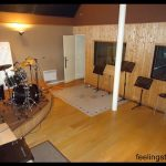 Cabine de prise de son Studio d'enregistrement Feeling Studio Lille
