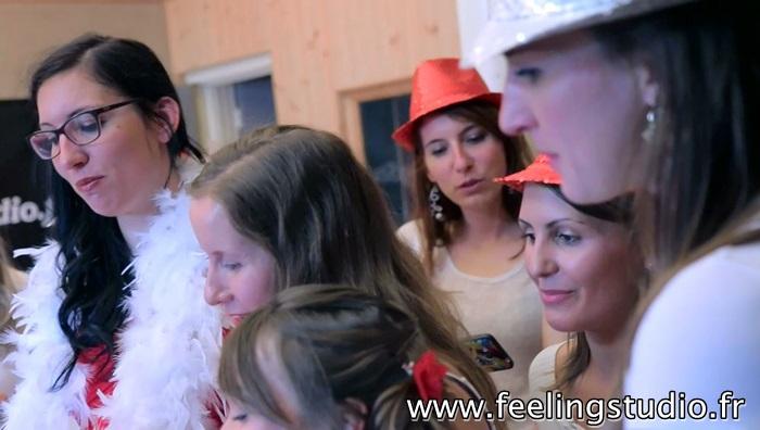 Enregistrer une chanson Enterrement de Vie de Jeune Fille Feeling Studio Lille - Estelle
