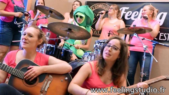 Enregistrer une chanson Feeling Studio Lille - Mathilde