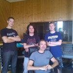 Groupe The black Stains Enregistrement album - Client Feeling Studio Lille