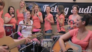 Enterrement de Vie de jeune fille Enregistrer une chanson - Feeling Studio Lille