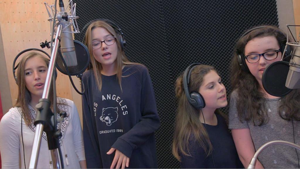 Teens Party anniversaire enfant et ado lille enregistrer en studio