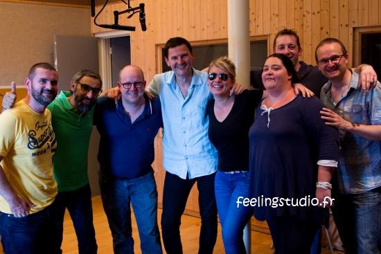Activité Teambuilding Chanson ou Doublage de Film Cohésion d'équipe, Soirée Privée d'Entreprise en Studio Feeling Studio Lille