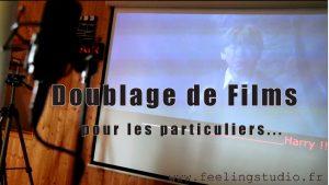Activite Doublage de film en studio enregistrement professionnel Feeling Studio Lille