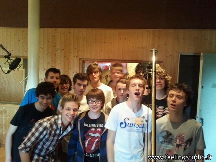 ecole centre de loisirs centre aere activite jeunesse enregistrer chanson studio enregistrement- feeling studio lille