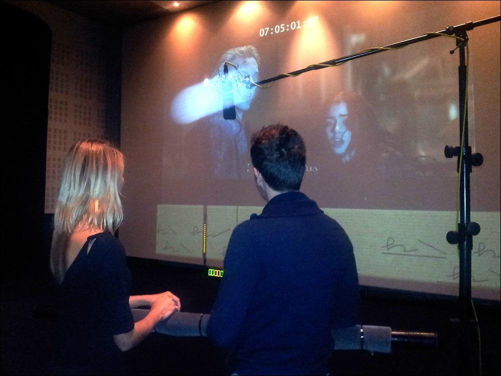 Activité enterrement de vie de célibataire, anniversaire, cohésion d'équipe teambuilding entreprise Lille - Doublage de film en studio Feeling Studio Lille